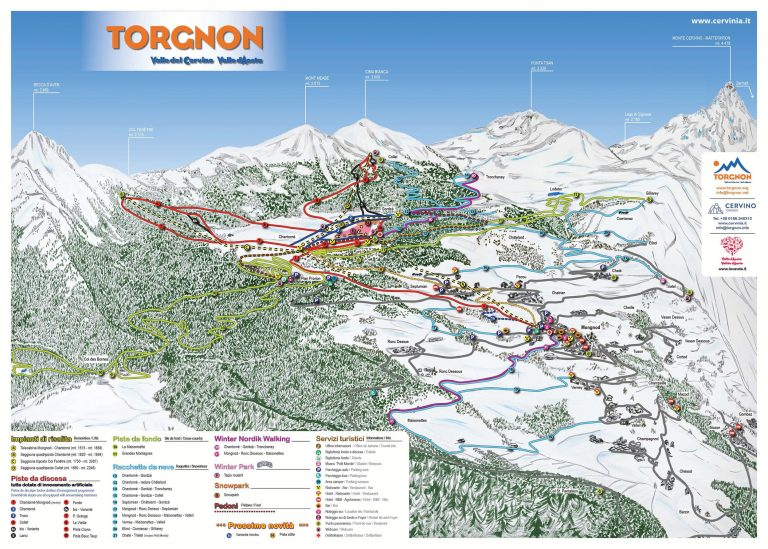 Torgnon skimap
