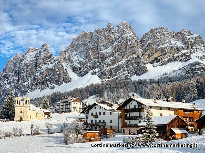 teren narciarski Cortina d'Ampezzo