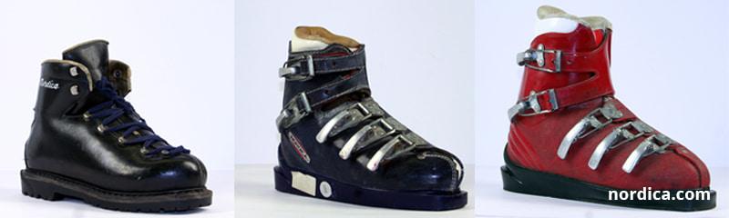 Stare modele butów narciarskich Nordica