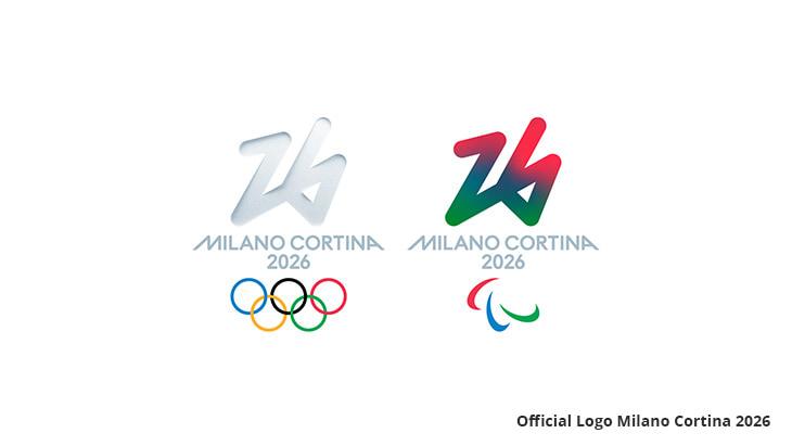 logo Zimowych Igrzysk Olimpijskich i Paraolimpijskich 2026
