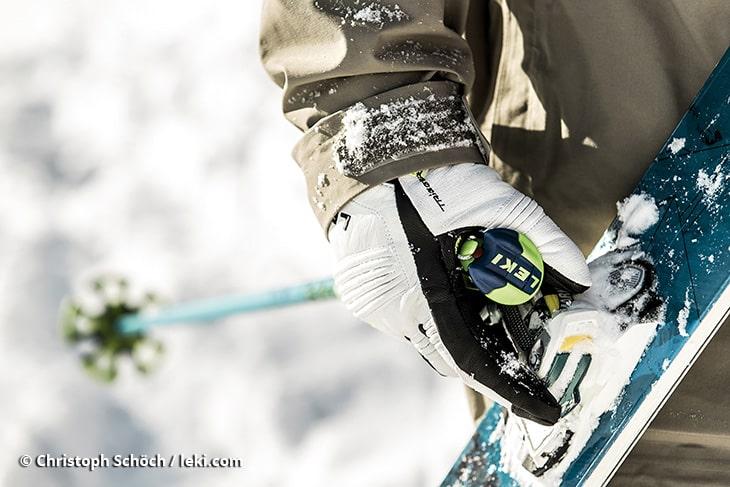 LEKI rękawice i kije narciarskie