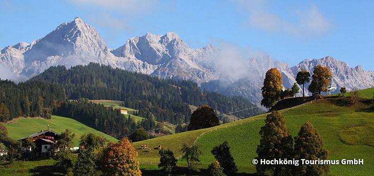Lato w ośrodku Hochkönig